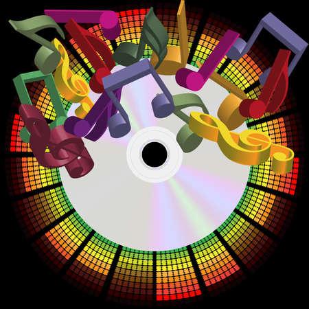 musica electronica: Fondo de parte de la m�sica