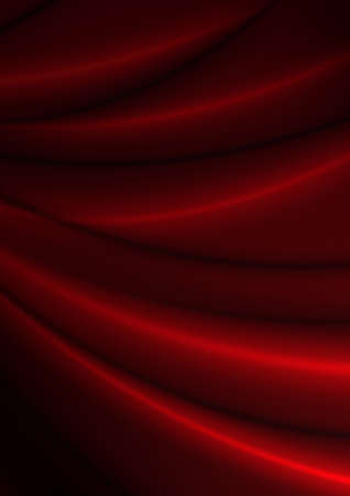 silky: Abstract Background - Dark Red Silky Fabric Drapery Texture Stock Photo