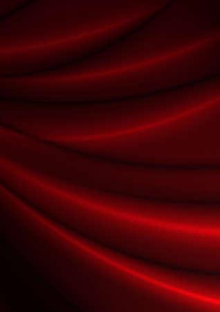 velvet texture: Abstract Background - Dark Red Silky Fabric Drapery Texture Stock Photo