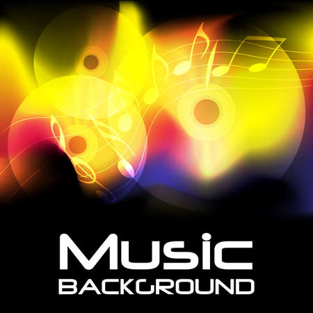 compact disc: Abstract Music Background Stock Photo