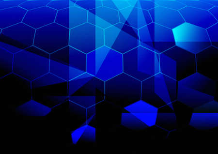 Blue Abstract Background Stock Photo - 8173347