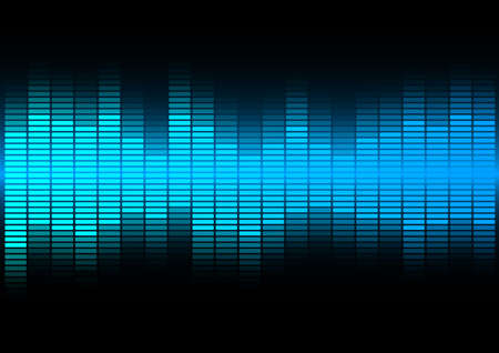Party Music Background Vector