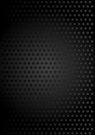Base métallique noir