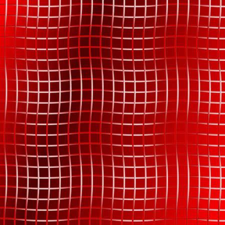 Metallic Wire Grid Vector