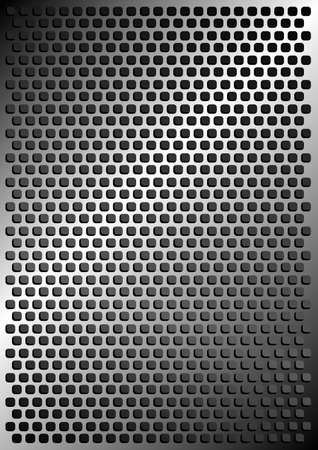 perforating: Abstract Metallic Background
