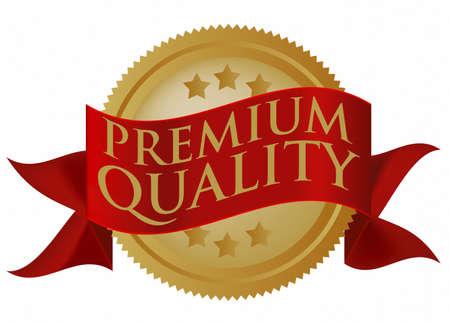 Premium kwaliteits zegel