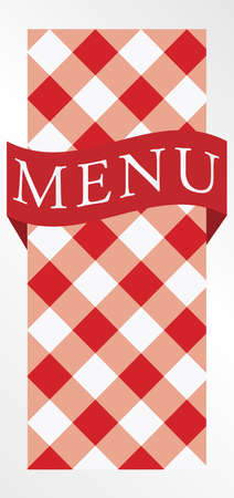 checked background: Menu Card