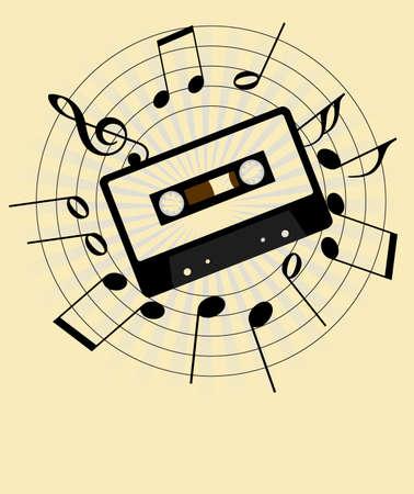casette: Music Background