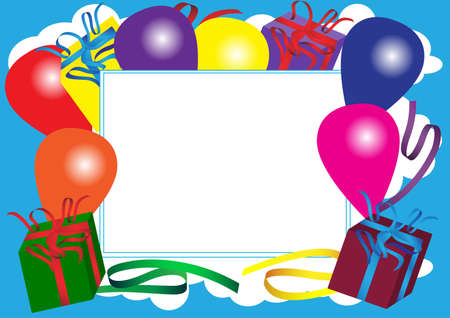 Happy Birthday Card Stock Vector - 8690438