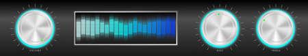 Illustration of Black Amplifier Stock Vector - 8769643