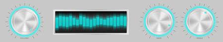 Silver Amplifier Stock Vector - 8769644