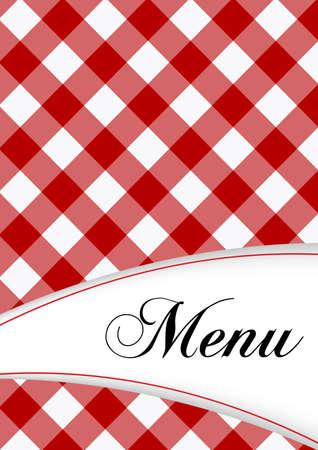 a tablecloth: Menu Card Design