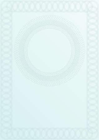 Blank Certificate Background Stock Vector - 9043390