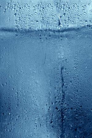condensation: Fondo - detalle de agua detr�s de vidrio