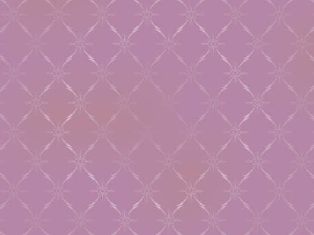 pink wall paper: Vintage Wallpaper - Ornaments on Light Pink Background
