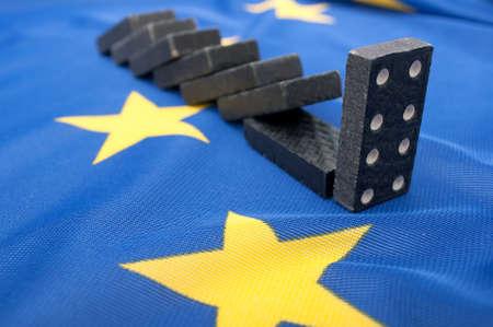 crisis economica: Crisis financiera en la Unión Europea - Efecto Domino