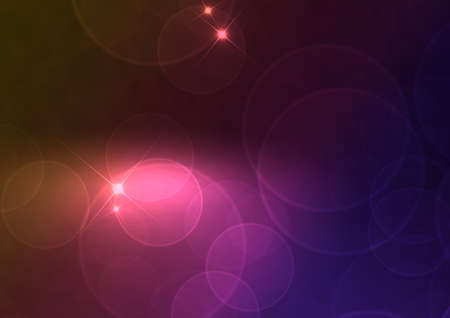 Abstract Background - Multicolor Blurred Lights on Dark Background Stock Photo - 11966752