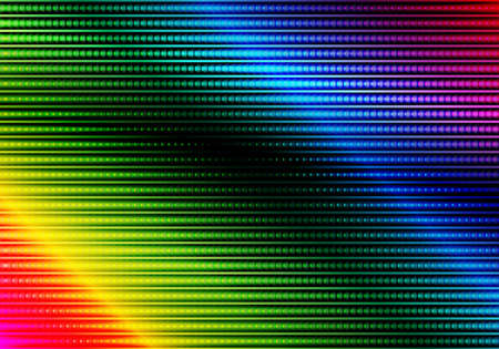 Glowing Multicolor Abstract Party Background