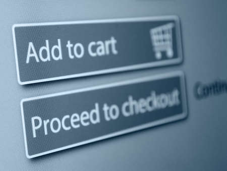 online shopping: Online Shopping - Add To Cart Button