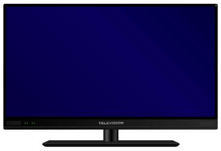 TV - Illustration de télévision fictif moderne isolé sur fond blanc