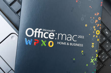 microsoft: Box With Microsoft Office for Mac Software