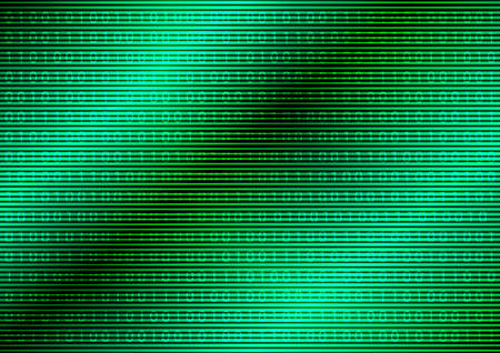 binary: Binary Code on Abstract Green Background