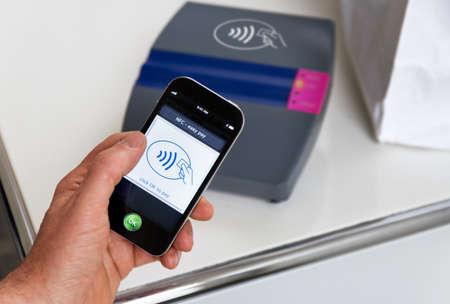 nfc: The new way to pay. NFC payments via mobile phone, etc
