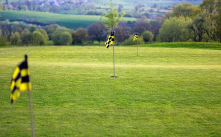 backlite: Flag on Golfcourse