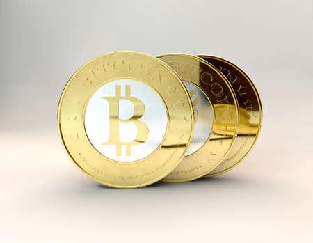 bit: lots of bitcoins - bit coin BTC the new virtual money