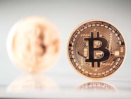 gold mining: lots of bitcoins - bit coin BTC the new virtual money