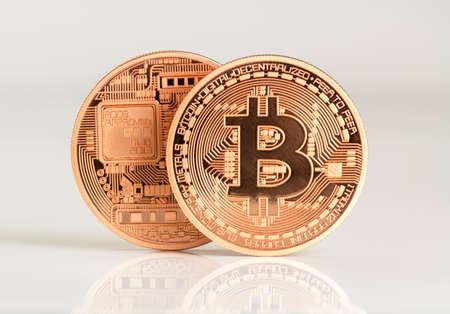 veel Bitcoins - beet munt BTC de nieuwe virtuele geld