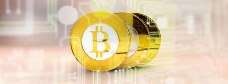 e commerce: lots of bitcoins - bit coin BTC the new virtual money