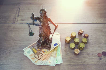depts: The Statue of Justice - Justice or Iustitia, Justitia the Roman goddess of justice
