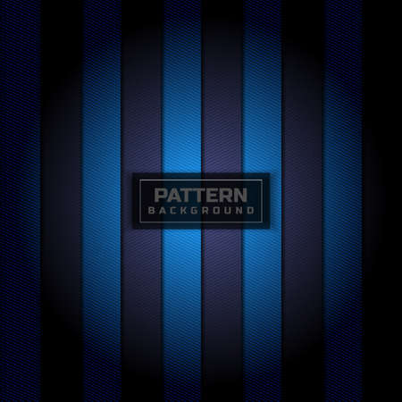 Abstract blue stripes pattern vertical with diagonal line texture background.Vector illustration