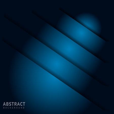 Blue background overlap layer on blue dark for background design. Vector illustration
