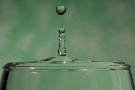 An image of a nice water drop photo