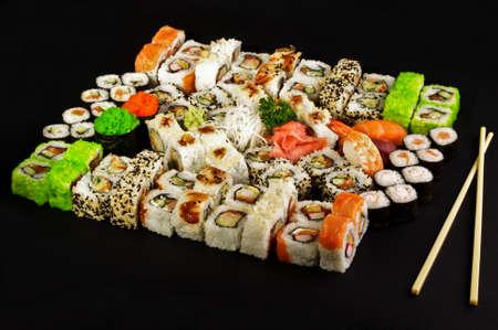 cuisines: Set of sushi