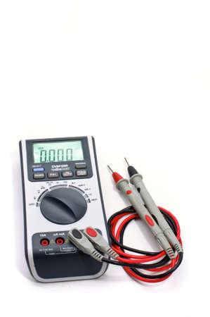 radio unit: Digital multimeter Stock Photo