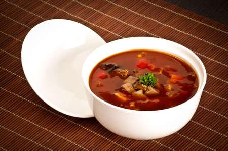 sapid: Chili soup