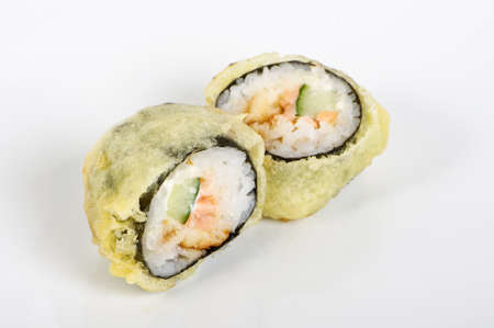 Hot maki rolls photo