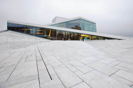 Oslo Opera House Banco de Imagens