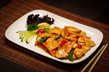 ready to cook food: Hot Chinese food