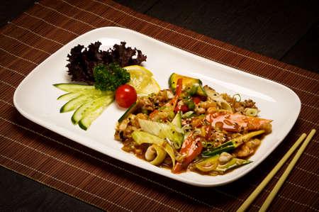 Sea food stew Stock Photo - 23146191