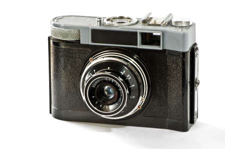Old film photocamera photo
