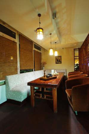 Chinese restaurant interior vertical Stock Photo - 24186326