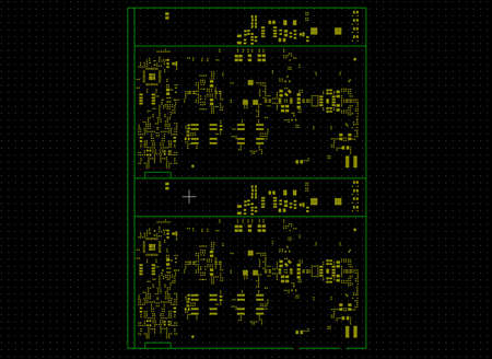 Printed circuit board top paste layer photo