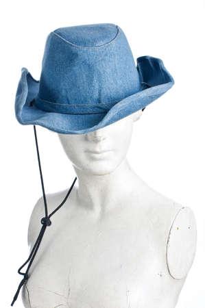 cowgirl hat: Yeso con sombrero de vaquera