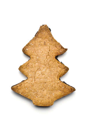 Christmas tree shape gingerbread photo