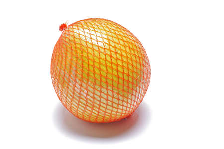 Pomelo fruit packed isolated photo