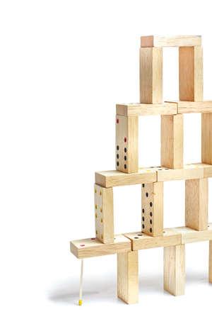 Dominoes building
